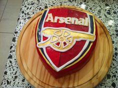 Arsenal Football Cake - From Sew La Tea