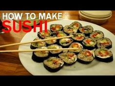 Maki Sushi Made Simple; from brown rice,