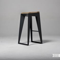 Nikita Bukoros, of the Ukrainian design bureau ODESD2, has designed the E1 bar stool. Made of steel and wood, the bar stool is inspired by Nikita's admiration for a variety of Japanese cultural arts, such as calligraphy, tea drinking, bonsai, and the art of making weapons.