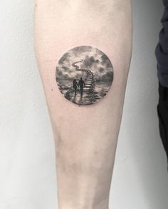 Eva Krbdk is a tattoo artist based in Istanbul, Turkey. Eva creates delicate and minikin tattoos of sunsets and forests with dot work, watercolor style, and fine lines. Tattoo artist Eva also speci…