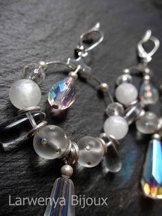 Boucles d'oreilles Larwenya Bijoux  http://larwenya-bijoux.over-blog.com/