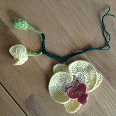 Young Orchid Flower ~ free pattern