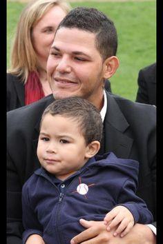 Yadi and his son :)