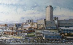 James Newman Gray, Sheffield from Park Hill