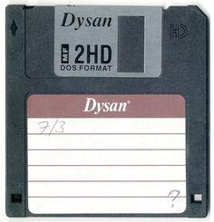 Дискета - носитель информации, используемый для многократной записи и хранения небольшого объема данных.  В наше время дискеты используются редко.