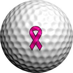 Breast Cancer Ribbon Golf Dotz Marks 32 golf balls per pack :) It's like a tattoo, it never peels off!