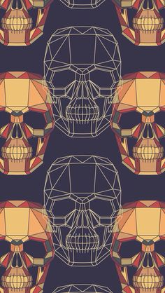 Pop Art Wallpaper Wallpapers Wall Papers 63 Ideas For 2019 Pop Art Wallpaper, Iphone 5 Wallpaper, Skull Wallpaper, Wallpaper Backgrounds, Illustrations, Illustration Art, Hr Giger, Whatsapp Wallpaper, Crane