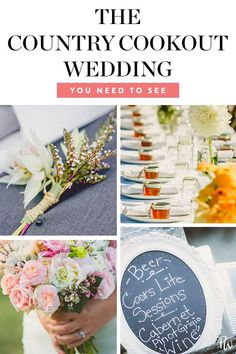 Wedding Reception Food This Rustic Country Cookout Wedding Is Making Us Reassess Everything Wedding Costs, Wedding Advice, Plan Your Wedding, Wedding Planning, Chic Wedding, Decor Wedding, Wedding Decorations, Wedding Day, Spring Wedding