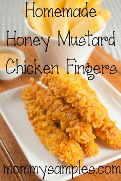Honey Mustard Chicken Tenders