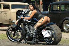 hot motorcycle girl