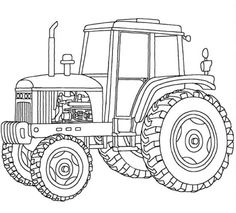 John Deer Tractor 7930 coloring pages for kids...lots of