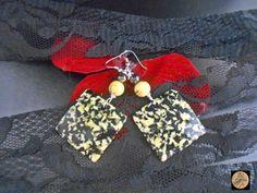 Geometric Plexi glass earrings Colorful earrings Boho Jewelry Contemporary jewelry Lightweight earrings Handmade Bohemian Jewelry by Neda Glass Earrings, Boho Earrings, Earrings Handmade, Crochet Earrings, Plexi Glass, Bohemian Jewelry, Unique Jewelry, Handmade Items, Handmade Gifts