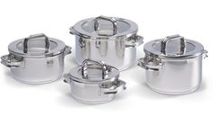 The Premium 18/10 Stainless Steel Cookware Set...a lifetime guaranteed endurance cookware set!