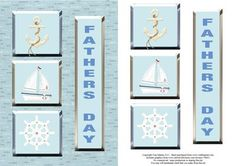 Nautical Father s Day Card Topper Decoupage on Craftsuprint - View Now!