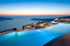 Ultra Mod Grecian Vacations - The Santorini Grace Hotel is Known for Its Unique Restaurants (GALLERY)