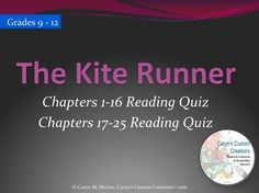 The kite runner essay questions and answers