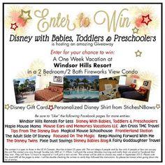 Disney with Babies, Toddlers & Preschoolers: Giveaway! One Week Stay In Beautiful Windsor Hills Resort, Orlando Florida!