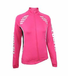 Amazon.com: Velocity-Women's Reflective Cycling & Running Jacket: Sports & Outdoors - size L Running Jacket, Hooded Jacket, Cycling, Athletic, Sports, Jackets, Outdoors, Gift Ideas, Amazon