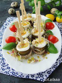 Koreczki Z Biala Kielbasa Food Breakfast Eggs