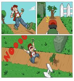 Desesperación ante el arbusto infranqueable