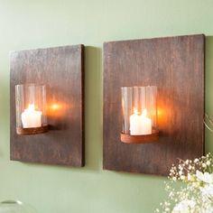 Ber ideen zu wandkerzenhalter auf pinterest kerzenhalter wand kerzenleuchter und metalle - Brett an die wand anbringen ...