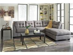 Shop For Signature Designs Two Piece Maier Sectionals, And Other Living  Room Sectionals At Walker Furniture In Las Vegas, Nevada. The Maier  Sectional Sofa ...