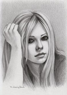 Avril Lavigne by thedrawinghands