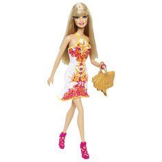 Barbie® Fashionistas® Doll - Tropical Print - Shop.Mattel.com