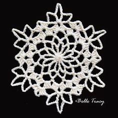 White Snowflake - SF # 4