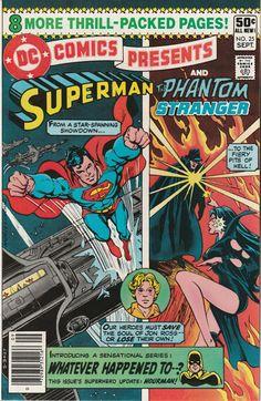 DC Comics Presents Vol. 3 No. 25  1980  Superman and the Phantom Stranger by TheSamAntics