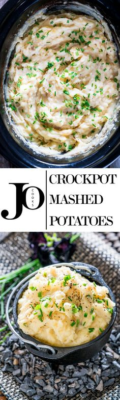 Learn how to make these delicious Crockpot Cheesy Mashed Potatoes with half the effort but still loaded with tons of flavor! The easiest mashed potatoes you will ever make. Crock Pot Slow Cooker, Crock Pot Cooking, Slow Cooker Recipes, Cooking Recipes, Crockpot Recipes, Vegetable Dishes, Vegetable Recipes, Crockpot Mashed Potatoes, Cheesy Potatoes