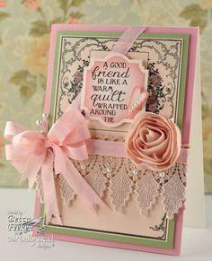 Pretty Becca Feeken card