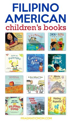 Filipino American Children's Books – Pragmatic Mom Childrens Book Shelves, Childrens Books, Tagalog Words, Kids Around The World, Best Children Books, American Children, Chapter Books, Children's Literature