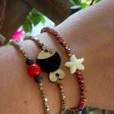 #summertime #hematite #love #fun Summertime, Handmade Jewelry, Bracelets, Fun, Instagram, Fashion, Moda, Handmade Jewellery, Fashion Styles