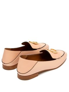 CHLOÉ  Chloé collapsible-heel leather loafers €550