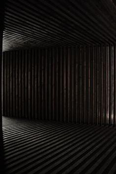 David Adjaye timber pavilion