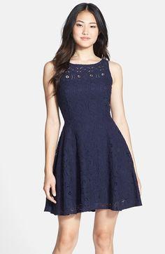 BB Dakota 'Renley' Lace Fit & Flare Dress (Nordstrom Exclusive) | Nordstrom