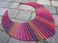 HK664: IRavelry: knit1spin1's Wellenbaktus USE leftover