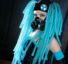 Bad Miku Cosplay Hatsune miku #cyber goth