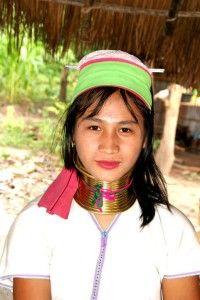 wioska długich szyj, Tajlandia