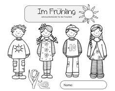 Sachunterricht in der Grundschule: Freiarbeitsmaterial zum Frühling
