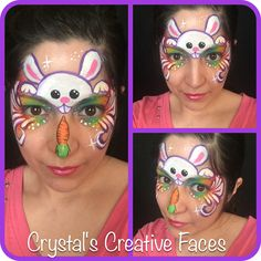 Bunny by Crystal's Creative Faces