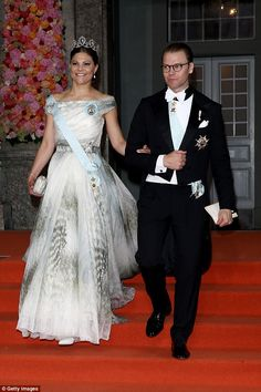 Ninth place:  Princess Victoria of Sweden's conservative taste saw her place second-last in the poll