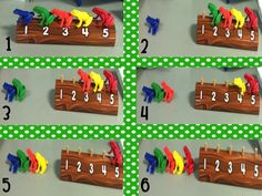 Kindergarten Lifestyle - 5 Little Speckled Frogs Composing/Decomposing Numbers