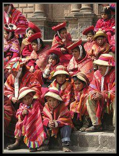 Ponchos - Cusco, Cusco
