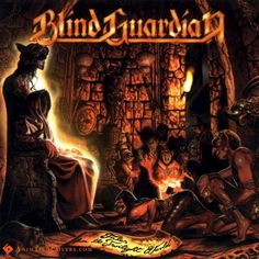Blind Guardian - Tales From The Twilight World Animated Album Cover GIF