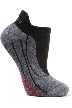 FALKE Ergonomic Sport System - Ru4 Invisible Knitted Socks - Black - IT39-40