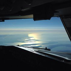 The view descending into South western BC. In the B737.