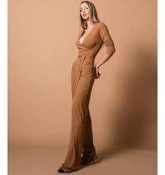 Ριπ Ολόσωμη Φόρμα Κρουαζέ - Μπεζ Fall Winter, Jumpsuit, Formal Dresses, Pants, Fashion, Overalls, Dresses For Formal, Trouser Pants, Moda