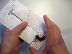 Bröllopskort x 2 / Weddingcard x 2 and a tutorial